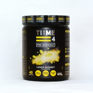 TIME 4 PRE WORKOUT - Lemon Shebet